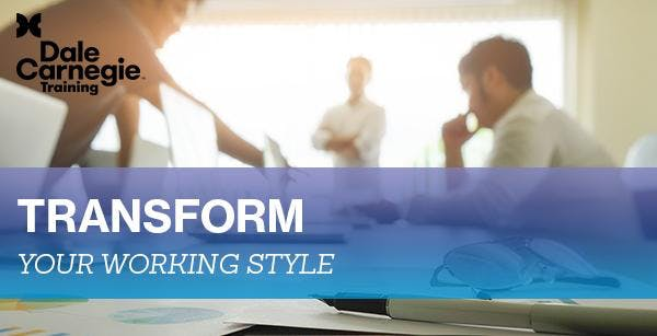Dale Carnegie Course | working style